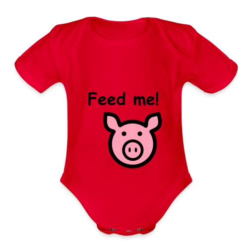 Ms. Piggy - Organic Short Sleeve Baby Bodysuit