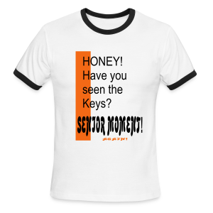 Honey have you seen the keys? - Men's Ringer T-Shirt