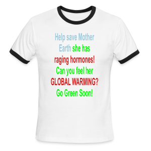 Help Save Mother Earth - Men's Ringer T-Shirt