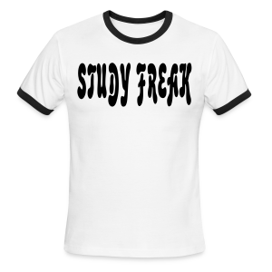 Study Freak - Men's Ringer T-Shirt