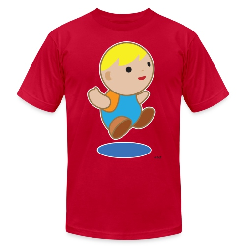 JUMPY BOY - Men's  Jersey T-Shirt