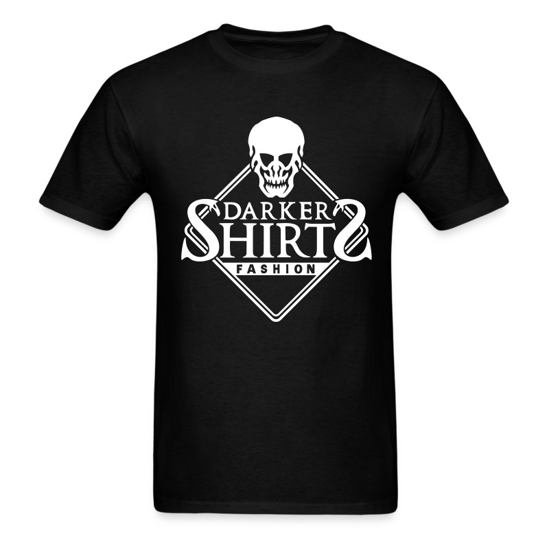 Skull T-Shirt Darker Shirts - Men's T-Shirt