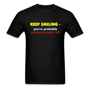 keep smiling - Men's T-Shirt