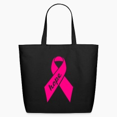 Black Ribbon - hope (mp) Bags