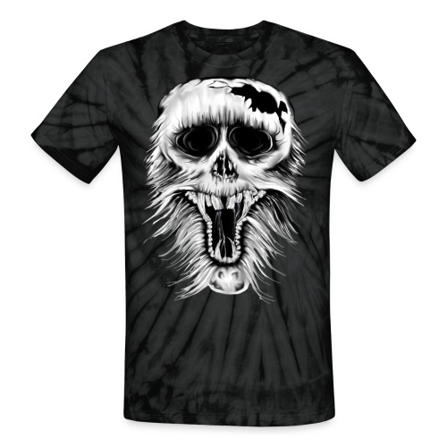 One Nasty Skull - Unisex Tie Dye T-Shirt