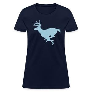 Running Buck - Women's T-Shirt