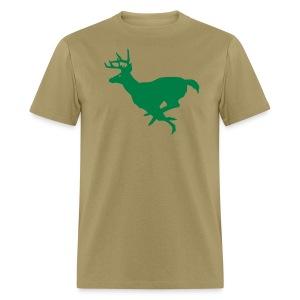 Running Buck - Men's T-Shirt
