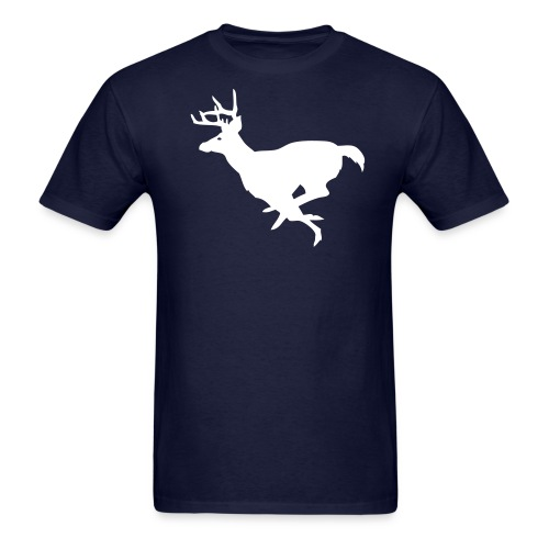 Running Buck - Men's T-Shirt