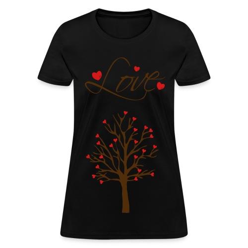 the love tree - Women's T-Shirt