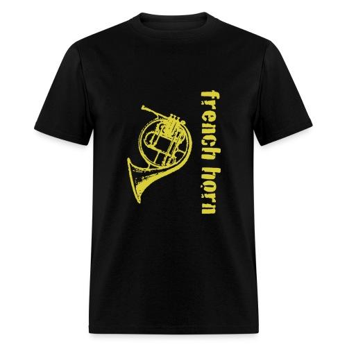 French Horn - Men's T-Shirt