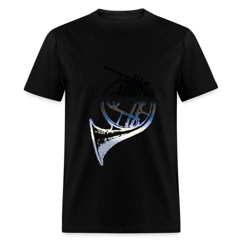 French Horn Night - Men's T-Shirt
