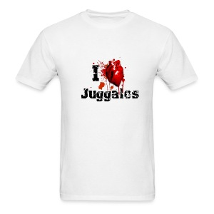 I love Juggalos - Men's T-Shirt
