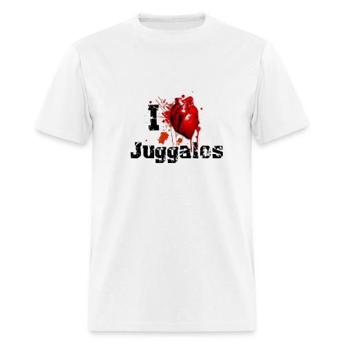 I love Juggalos - Men's T-Shirt