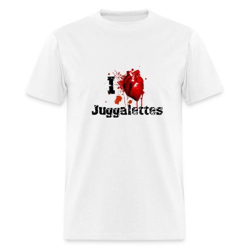 I love Juggalettes - Men's T-Shirt