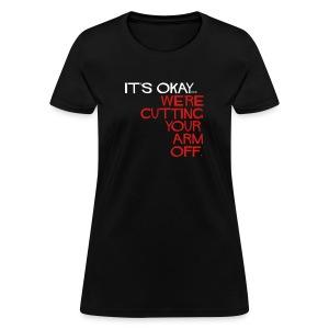 Wmn's Reg. Cutting... 1 sided. - Women's T-Shirt