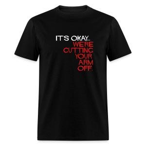 Men's reg. Cutting... 2 sided. - Men's T-Shirt