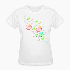 White bubbles Women's T-Shirts
