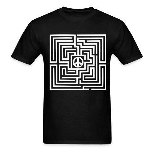 Peace Maze - Men's T-Shirt