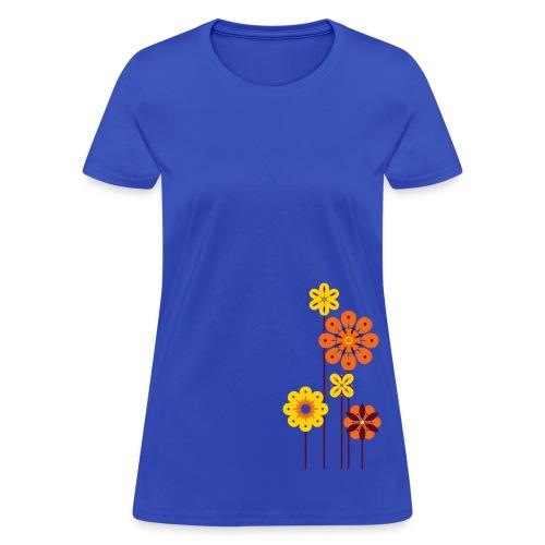 Women's Flowers T - Women's T-Shirt