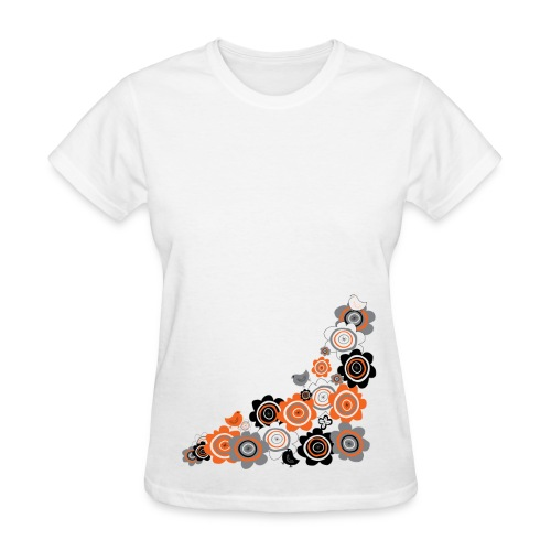 Women's Birds And Flowers T - Women's T-Shirt