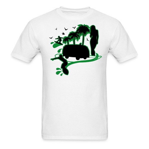 Men's Summer Wave T - Men's T-Shirt