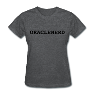 Women's T-Shirts ~ Women's T-Shirt ~ ORACLENERD (Grey)