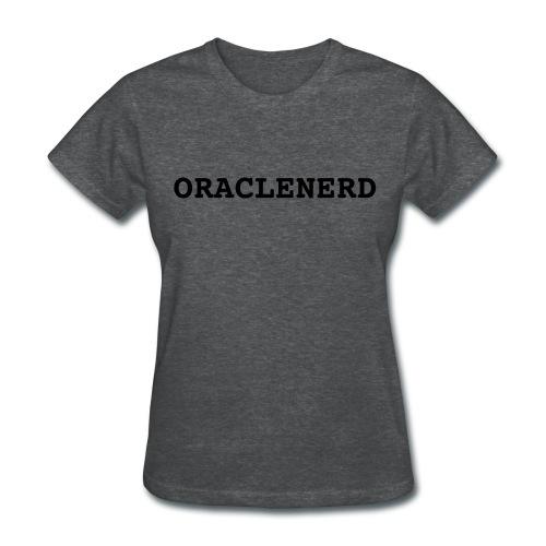 ORACLENERD (Grey) - Women's T-Shirt