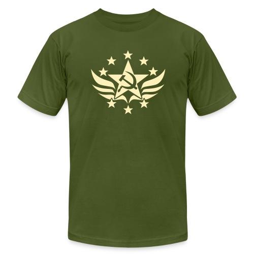 Soviet Emblem Jersey Tee Shirt - Men's Fine Jersey T-Shirt