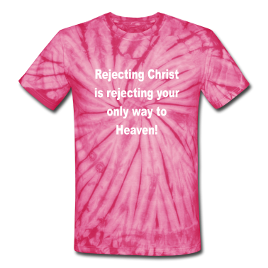 Spider pink rejecting_christ T-Shirts