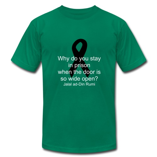 depression awareness - Men's Fine Jersey T-Shirt