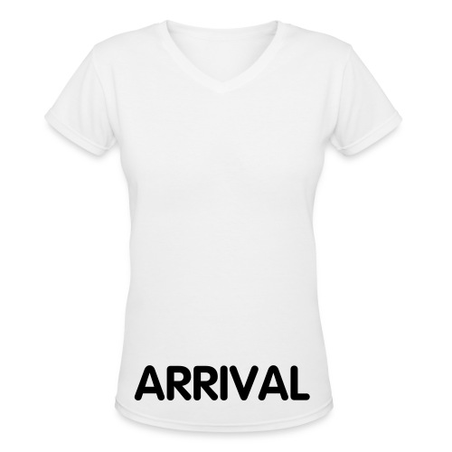 arrrival plain:] - Women's V-Neck T-Shirt