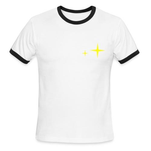 Girls Talk Too Much - Men's Ringer T-Shirt - Men's Ringer T-Shirt