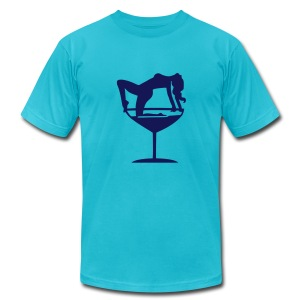 martini with a twist - Men's Fine Jersey T-Shirt