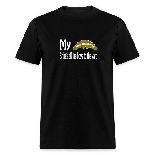 Milk-stache - Men's T-Shirt