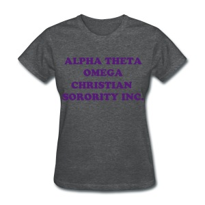 ATO Full Name-Gray - Women's T-Shirt