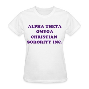 ATO Full Name-White - Women's T-Shirt
