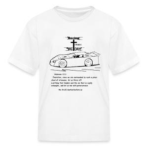 Kids shirt with Scripture RTV - Kids' T-Shirt