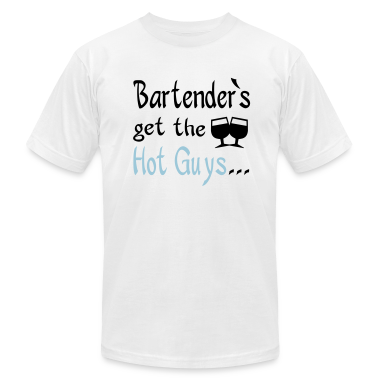 White bartenders T-Shirts
