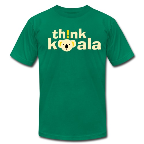 Th!nk Koala! - Men's Fine Jersey T-Shirt