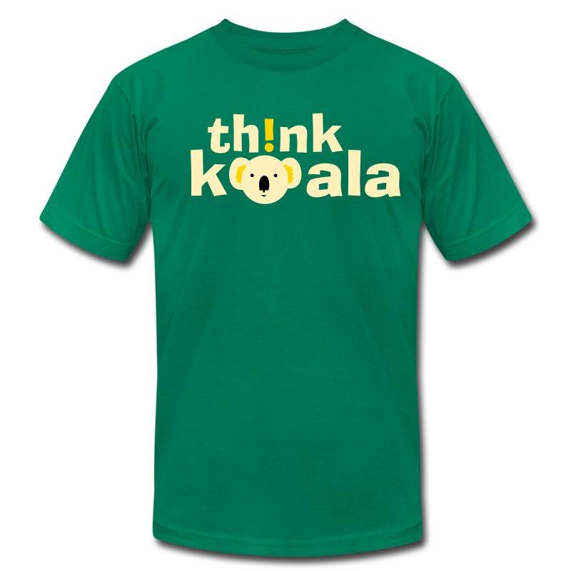 Th!nk Koala! - Men's Fine Jersey T-Shirt