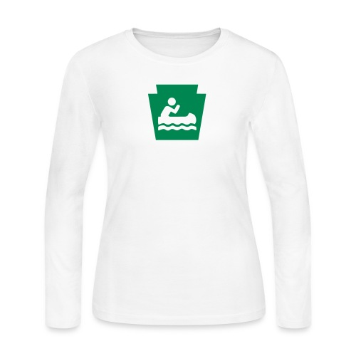 Boat PA Keystone - Women's Long Sleeve Jersey T-Shirt