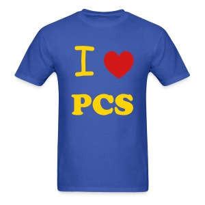 I heart PCS - Men's T-Shirt