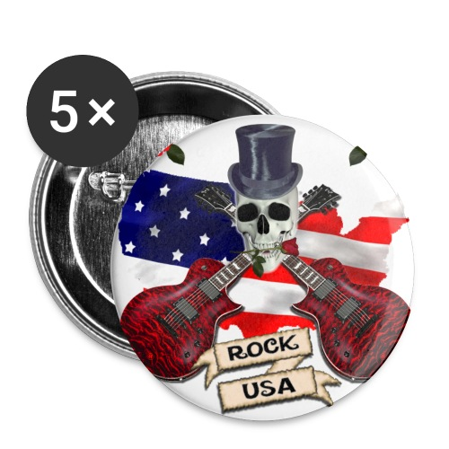 Rock usa - Large Buttons