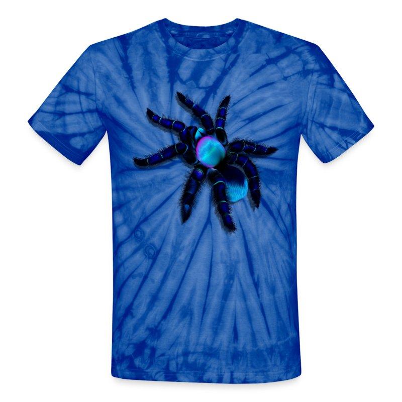 Big blue spider t shirt spreadshirt for Big blue t shirts