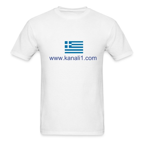 Kanali1 Male T-Shirt - Men's T-Shirt