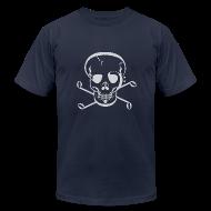 T-Shirts ~ Men's T-Shirt by American Apparel ~ Music Jolly Roger