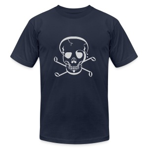 Music Jolly Roger - Men's T-Shirt by American Apparel