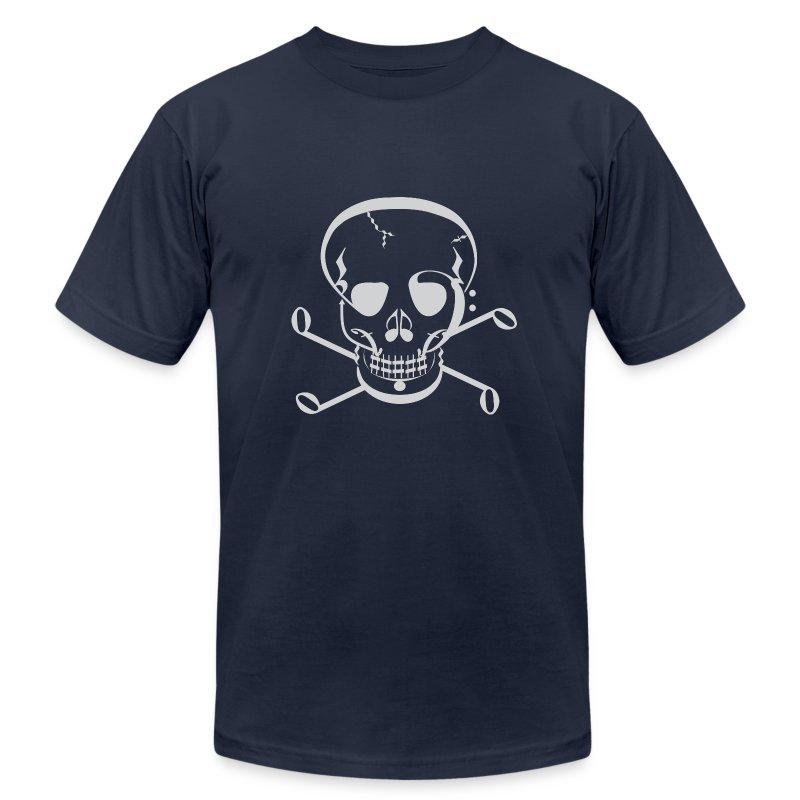 Music Jolly Roger - Men's Fine Jersey T-Shirt