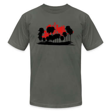 Asphalt Los Angeles T-Shirts