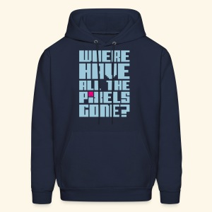 Where have all the pixels gone? - Men's Hoodie